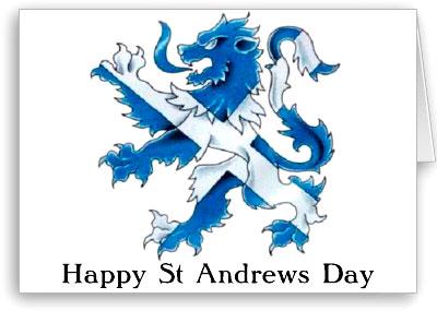 St. Andrew's Day 2015
