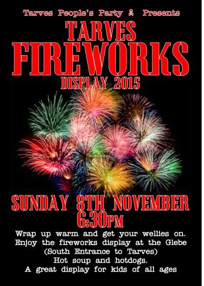 Tarves Fireworks 2015